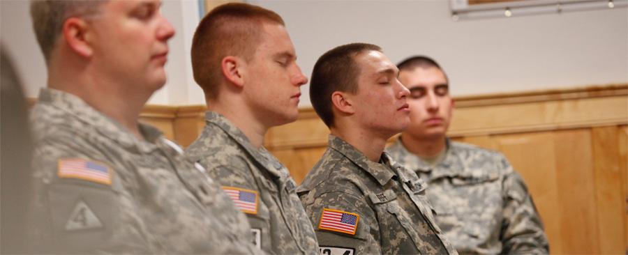 A small group of US military has already began using Transcendental Meditation to combat PTSD and increase soldier resilience.